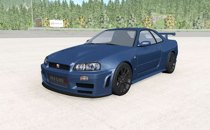 Photo of BeamNG – Nissan Skyline GT-R Nismo Z-Tune (R34) 2005 Model
