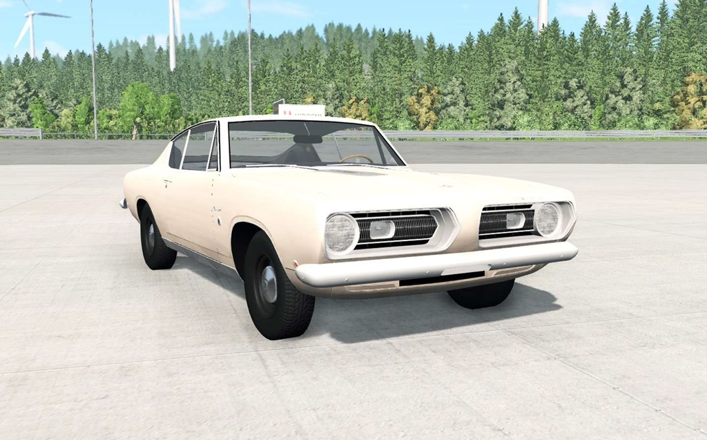 Photo of BeamNG – Plymouth Barracuda (BH29) 1968 Model
