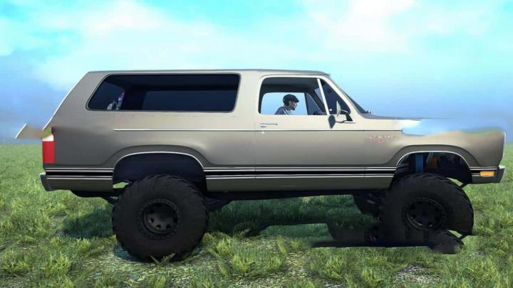 Photo of SpinTires MudRunner – 1979 Dodge Ram Charger LS V1.0