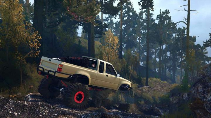 Photo of SpinTires MudRunner – 2J Taco Pikap Modu v1.0