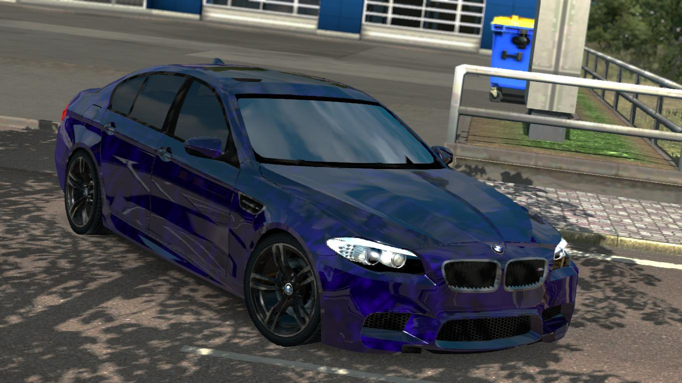 Photo of ETS2 – BMW M5 F10 Sedan Araba Modu (1.35.x)