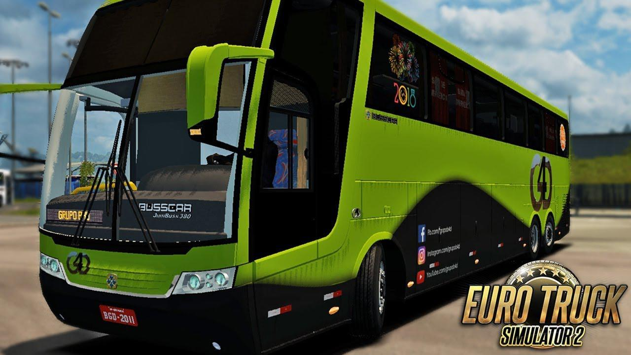 Photo of ETS2 – Busscar Jumbuss 380 Mercedes Otobüs Modu (1.35.x)