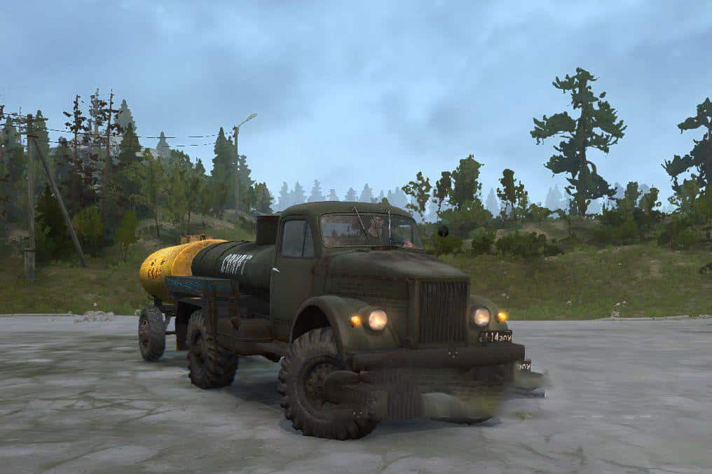 Photo of SpinTires MudRunner – Gas 63 Kamyon Modu Final