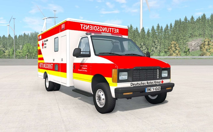 Photo of BeamNG – Gavril H-Series Alman Ambulans Modu V1.3