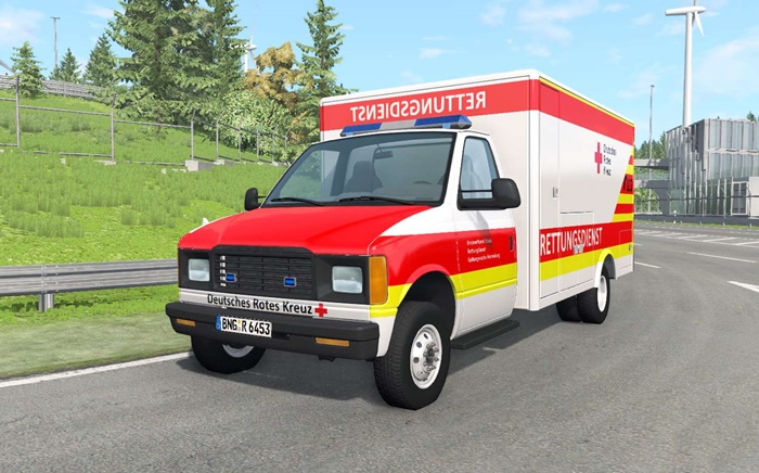 Photo of BeamNG – Gavril H-Serisi Alman Ambulans Arabası V1.4