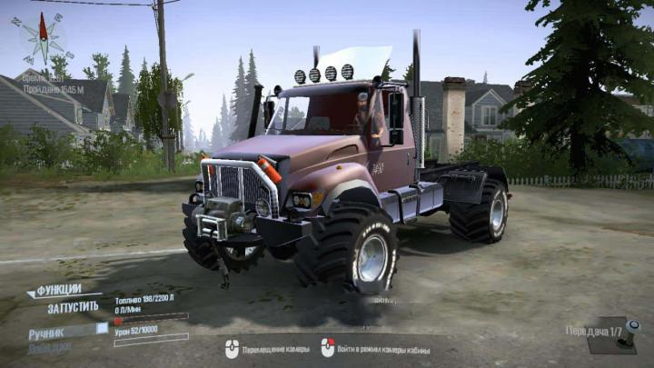 Photo of SpinTires MudRunner – IHC-7400 Kamyon Modu v01