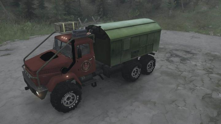 Photo of SpinTires MudRunner – KrAZ-64372 Kamyon Modu v19.10.19