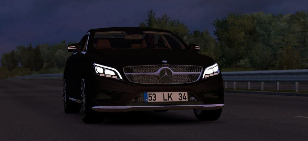 Photo of ETS2 – Mercedes-Benz CLS 350D 4Matic 2017 Model Araba Modu V1.0 (1.35.x)