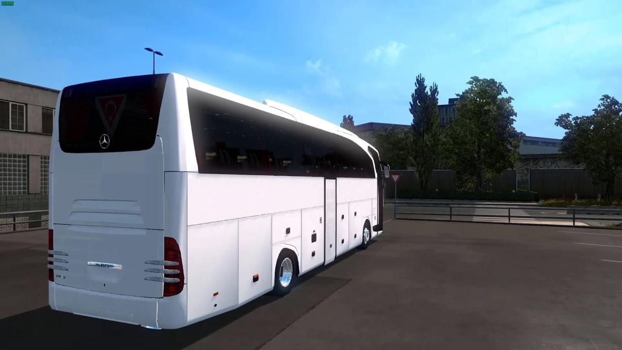 Photo of ETS2 – Mercedes Travego Otobüs Modu (1.35.x)