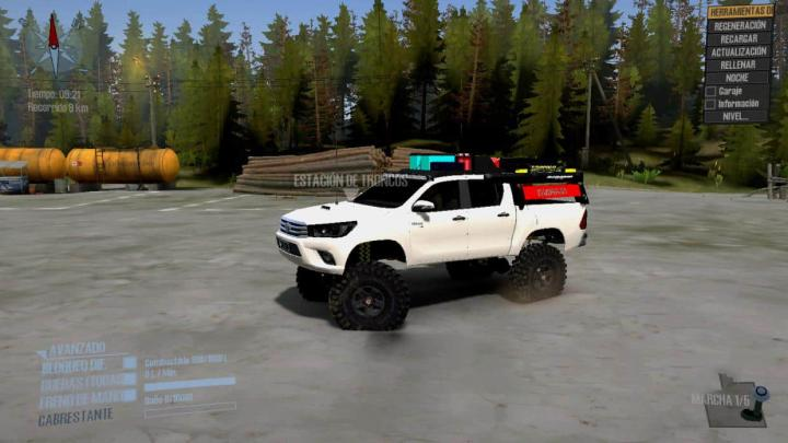 Photo of SpinTires MudRunner – Toyota Hilux Vzl v1.0