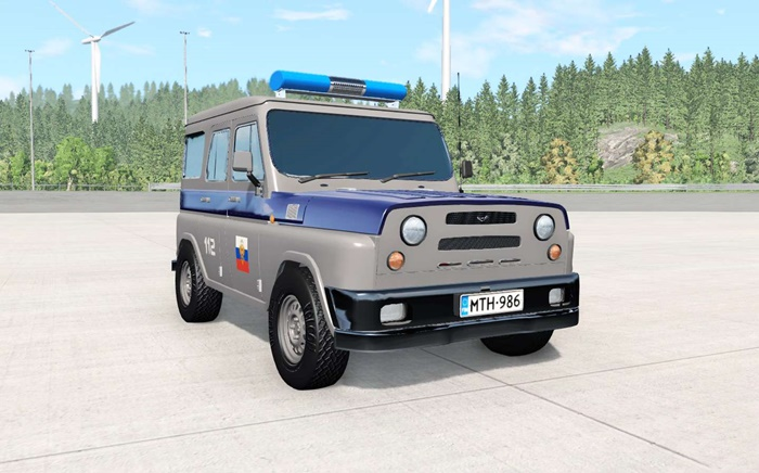 Photo of BeamNG – Uaz Antigenic Cop Araba Modu