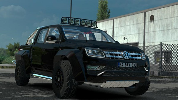 Photo of ETS2 – Volkswagen Amarok V1R12