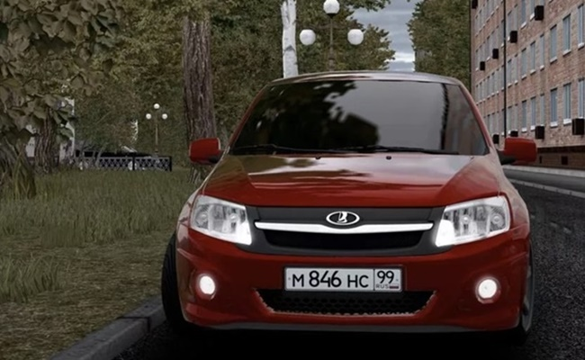 Photo of City Car Driving 1.5.9 – Lada Granta Sport Araba Modu