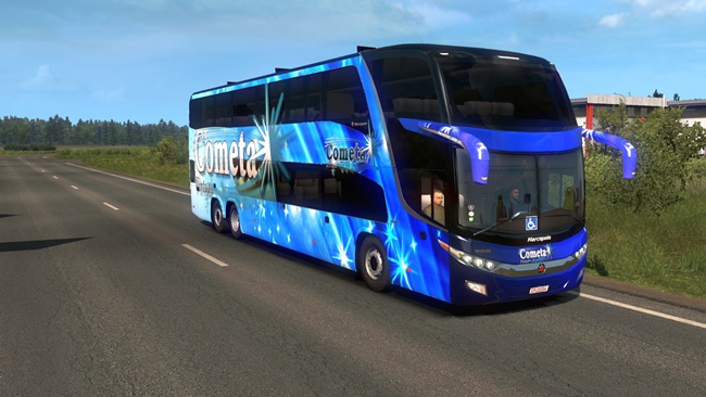 Photo of ETS2 – Marcopolo G7 1800DD Otobüs Modu V2