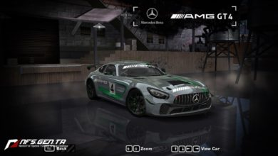 Photo of NFS Most Wanted – Mercedes Benz 2019 AMG GT4