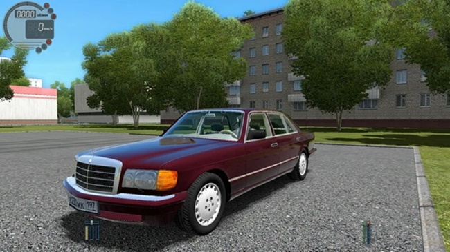 Photo of City Car Driving 1.5.9 – Mercedes-Benz 560 Sel W126