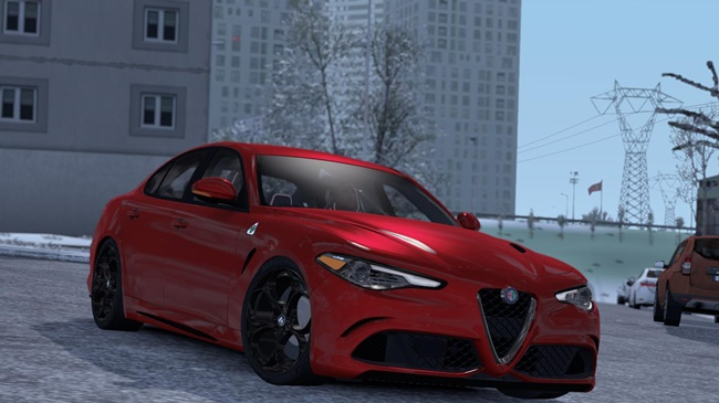 Photo of ETS2 / ATS – Alfa Romeo Giulia V1R20 Araba Modu