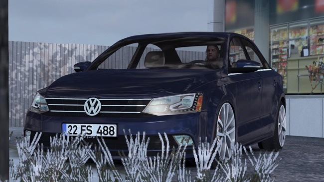 Photo of ETS2 / ATS – Volkswagen Jetta V1R20 Araba Modu