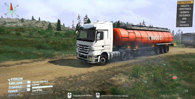 Photo of SpinTires MudRunner – Mercedes Benz Actros Tır Modu V23.01.20