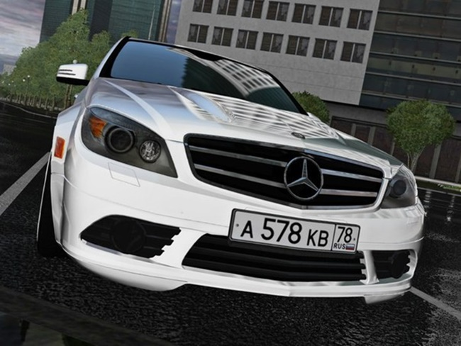 Photo of City Car Driving 1.5.9 – Mercedes-Benz C180 (W204) Araba Modu