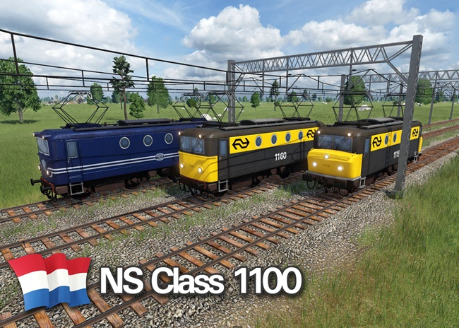 Photo of Transport Fever 2 – NS Class 1100