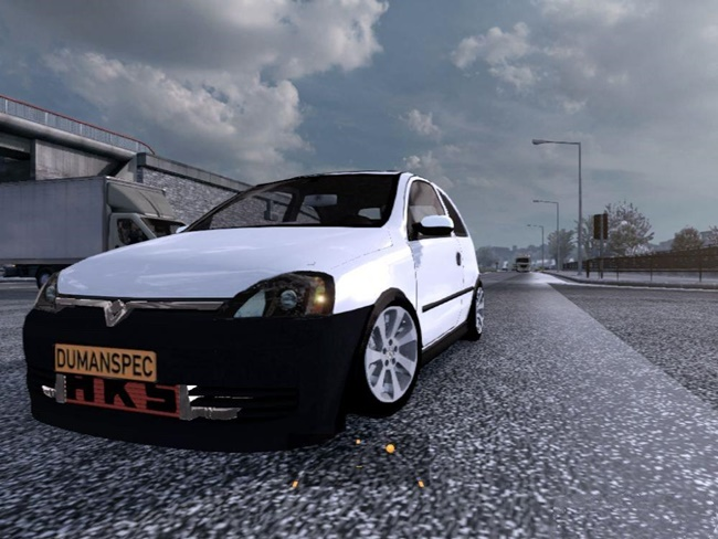 Photo of ETS2 – Opel Corsa 1.7 Araba Modu