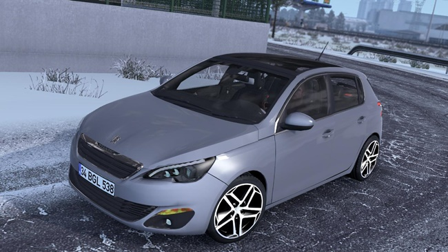 Photo of ETS2/ATS – Peugeot 308 V1R20 Araba Modu