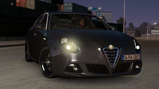 Photo of ETS2 / ATS – Alfa Romeo Giulietta V1R20 (1.36.x)