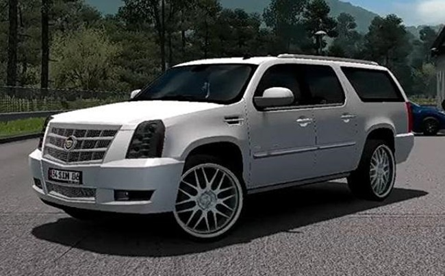 Photo of ETS2 – Cadillac Escalade ESV Platinium 2012 Model Araba Modu
