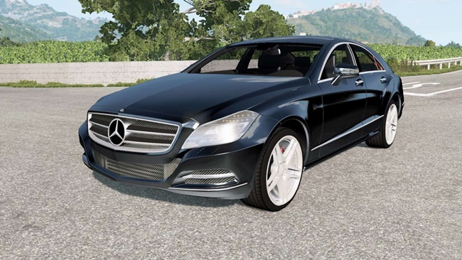 Photo of BeamNG – Mercedes-Benz CLS 350 (C218) 2011 Model Araba Modu