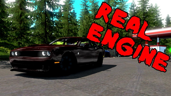 Photo of ETS2 – Dodge Challenger Araba Modu