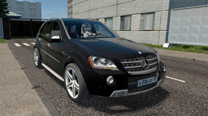 Photo of City Car Driving 1.5.9 – Mercedes-Benz ML320 CDi Araba Modu