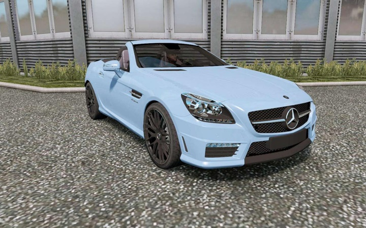 Photo of ETS2 – Mercedes-Benz SLK 55 AMG (R172) Araba Modu
