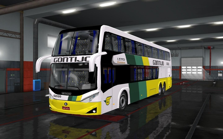 Photo of ETS2 – Metalsur Starbus 3 Otobüs Modu