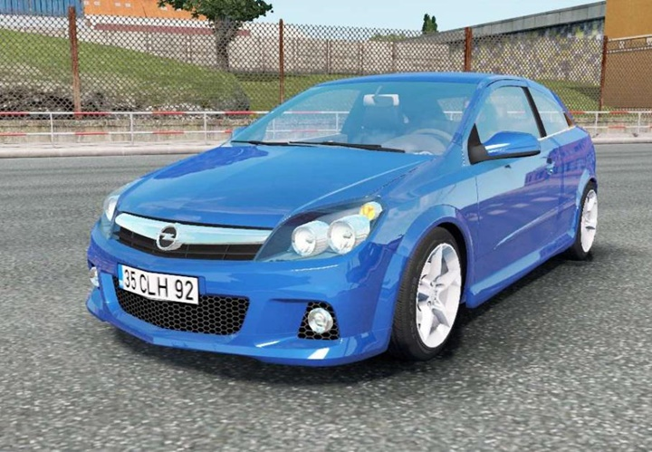 Photo of ETS2 – Opel Astra OPC (H) 2005 Model Araba Modu
