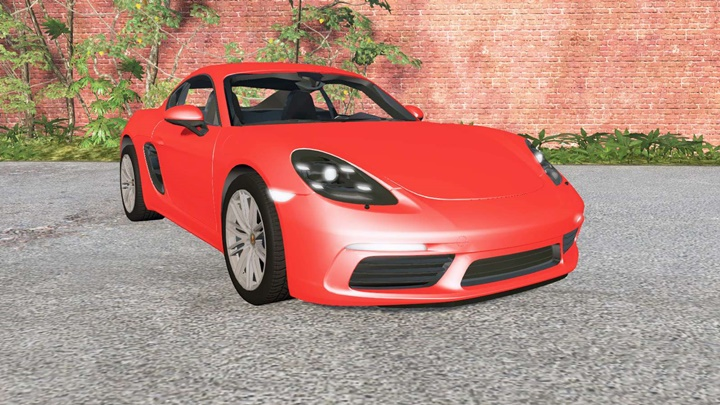 Photo of BeamNG – Porsche 718 Cayman (982C) 2016 Model Araba Modu