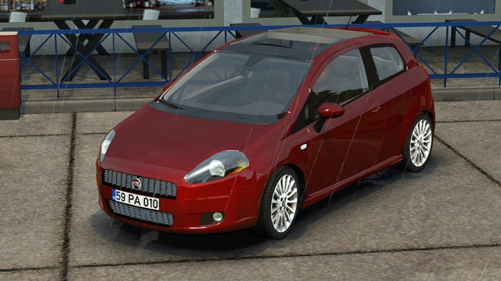 Photo of ETS2 – Fiat Punto 3DR V1R20 Araba Modu