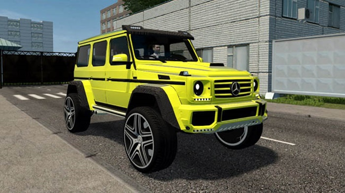 Photo of City Car Driving 1.5.9 – Mercedes-Benz G500 4×4 2017 Model Araba Modu