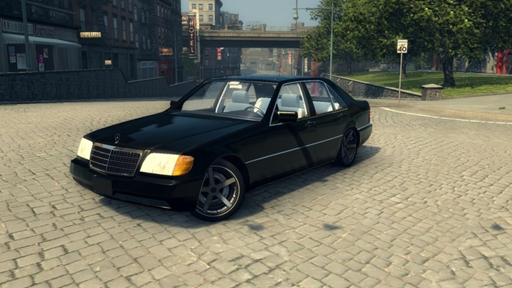 Photo of Mafia 2 – Mercedes S320 W140 Araba Modu