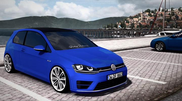 Photo of ETS2 – Volkswagen Golf 7 R Line Araba Modu V2