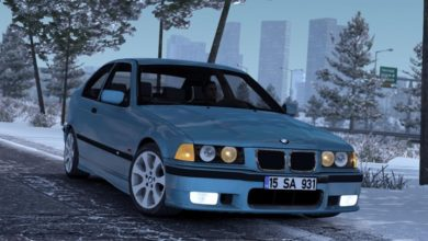 Photo of ETS2 / ATS – BMW E36 Compact Araba Modu (1.37)