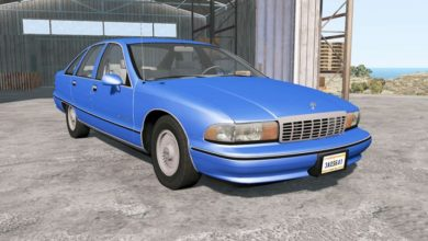 Photo of BeamNG – Chevrolet Caprice Classic 1991 Model Araba Modu