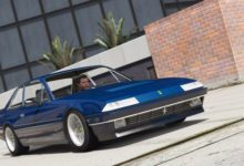 Photo of GTA 5 – Ferrari 412 1985 Model Araba Modu