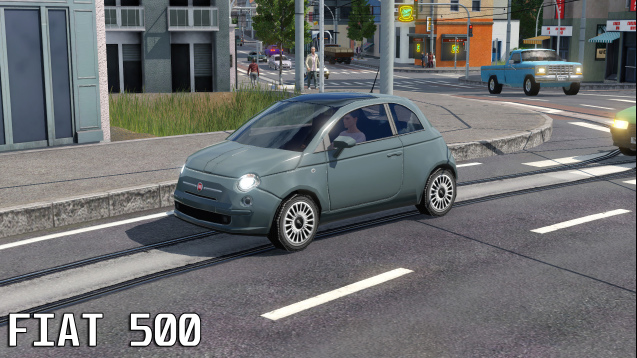 Photo of Transport Fever 2 – Fiat 500 2007 Model