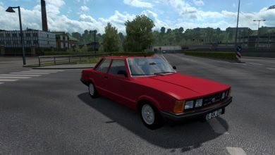 Photo of ETS2 / ATS – Ford Taunus  Araba Modu (1.37)