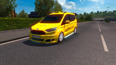 Photo of ETS2 / ATS – Ford Tourneo Courier Araba Modu (1.37)