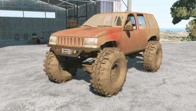 Photo of BeamNG – Jeep Grand Cherokee (ZJ) 1994 Model 4×4
