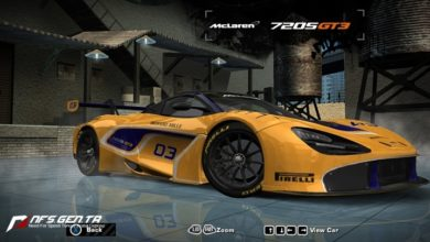 Photo of NFS Most Wanted – McLaren 720S GT3