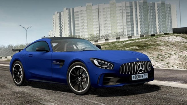 Photo of City Car Driving 1.5.9 – Mercedes-AMG GT R Coupe 2017 Model Araba Modu