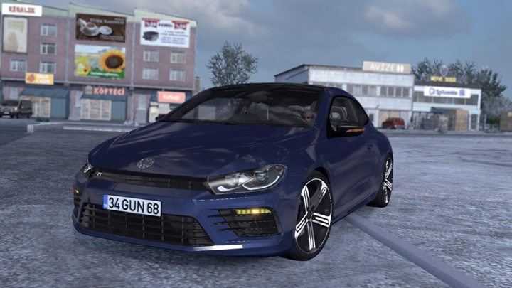 Photo of ETS2/ATS – Volkswagen Scirocco V1R30 Araba Modu (1.37)